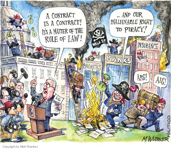 Matt Wuerker  Matt Wuerker's Editorial Cartoons 2009-03-23 matter
