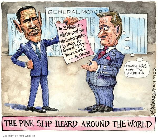 Matt Wuerker  Matt Wuerker's Editorial Cartoons 2009-03-31 pink