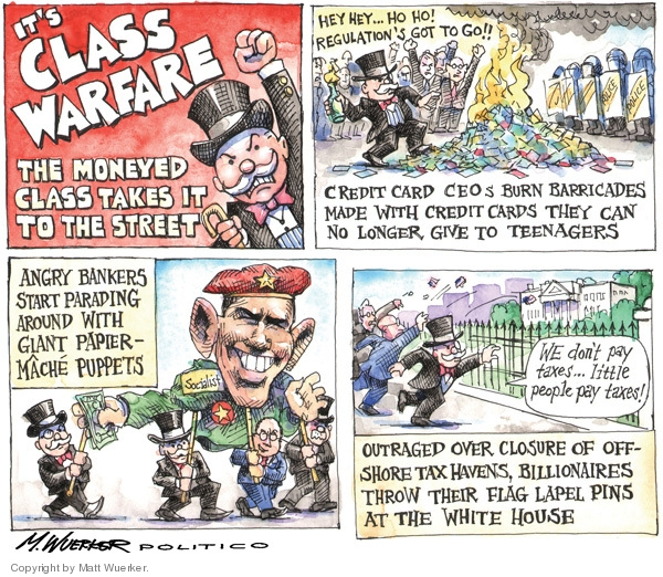 Cartoonist Matt Wuerker  Matt Wuerker's Editorial Cartoons 2009-05-07 banker