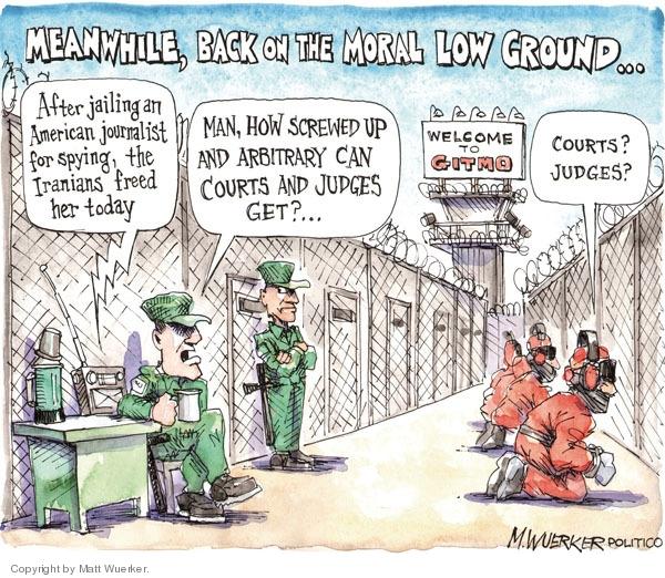 Matt Wuerker  Matt Wuerker's Editorial Cartoons 2009-05-12 due process