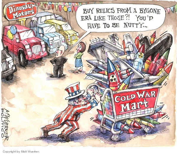 Matt Wuerker  Matt Wuerker's Editorial Cartoons 2009-05-11 Cold War