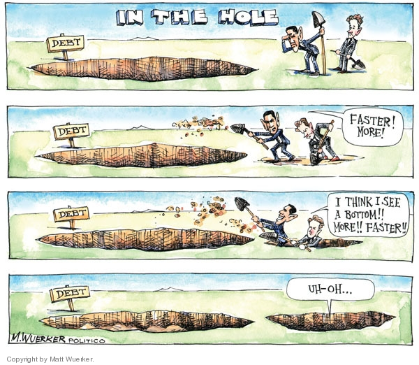 Cartoonist Matt Wuerker  Matt Wuerker's Editorial Cartoons 2009-06-10 federal budget