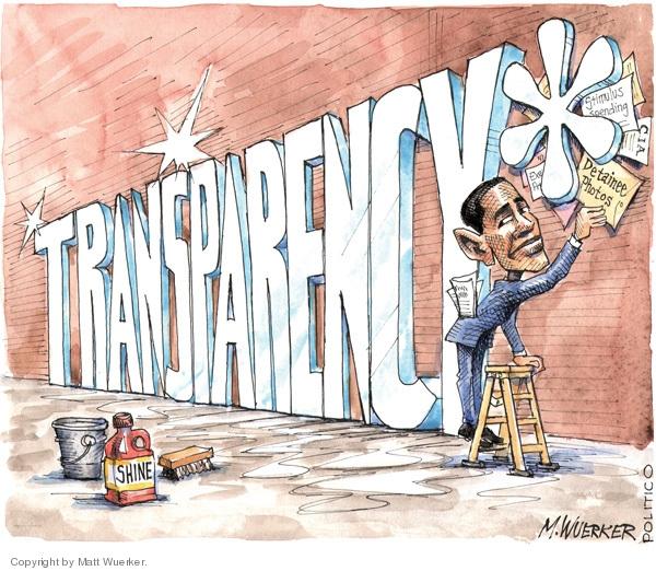 Cartoonist Matt Wuerker  Matt Wuerker's Editorial Cartoons 2009-06-18 CIA