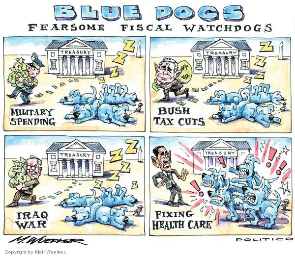Matt Wuerker  Matt Wuerker's Editorial Cartoons 2009-08-06 Bush tax cut