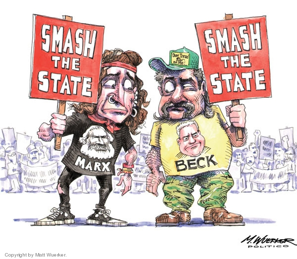 Cartoonist Matt Wuerker  Matt Wuerker's Editorial Cartoons 2009-09-28 government