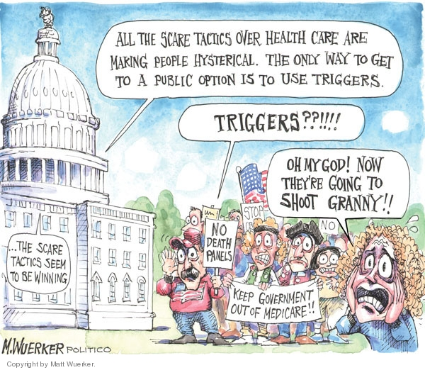 Cartoonist Matt Wuerker  Matt Wuerker's Editorial Cartoons 2009-09-30 God