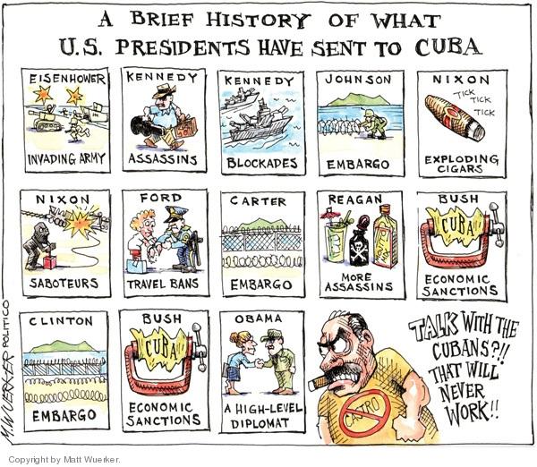 Cartoonist Matt Wuerker  Matt Wuerker's Editorial Cartoons 2009-10-06 Eisenhower