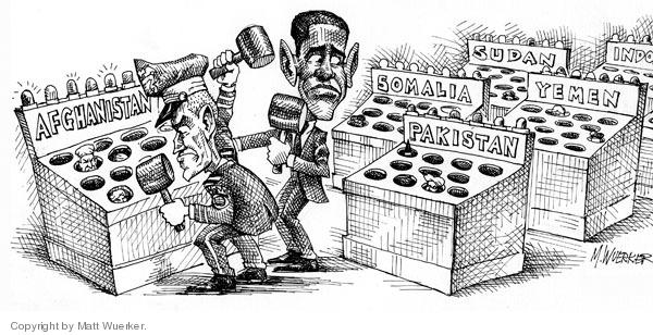 Cartoonist Matt Wuerker  Matt Wuerker's Editorial Cartoons 2009-10-14 Yemen