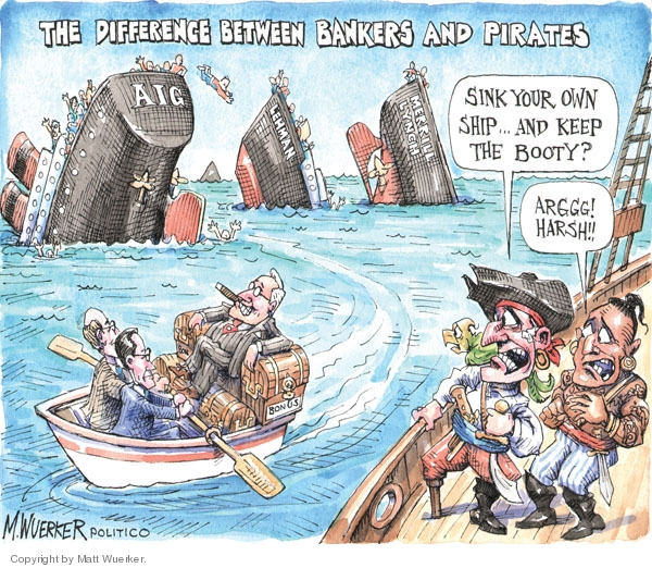 Cartoonist Matt Wuerker  Matt Wuerker's Editorial Cartoons 2009-10-19 executive