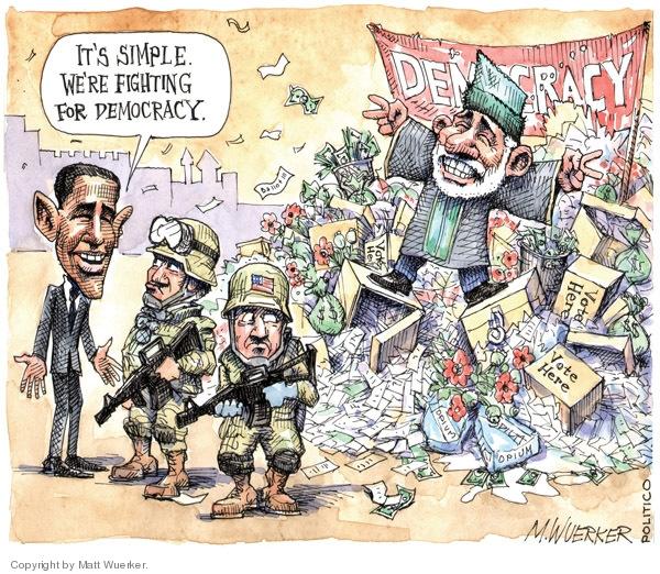 Matt Wuerker  Matt Wuerker's Editorial Cartoons 2009-11-03 ballot president