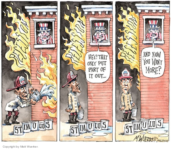 Cartoonist Matt Wuerker  Matt Wuerker's Editorial Cartoons 2009-11-04 federal employment