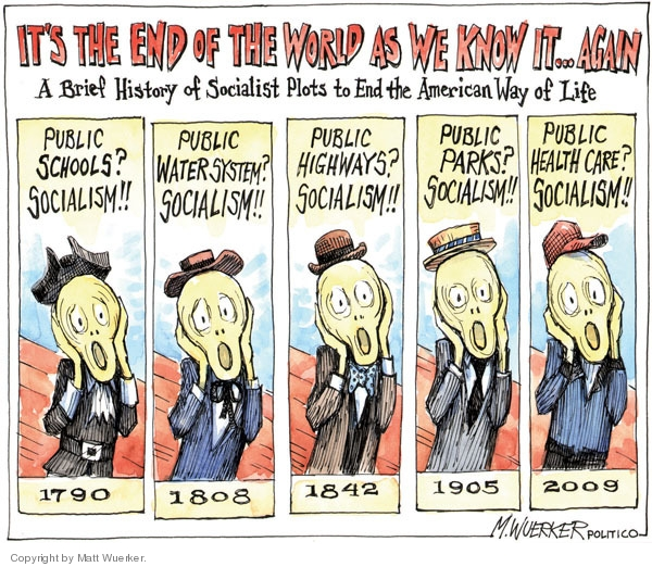 Socialist Cartoons and Comics - funny pictures from CartoonStock