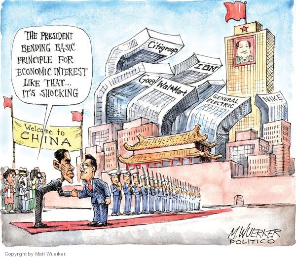 Cartoonist Matt Wuerker  Matt Wuerker's Editorial Cartoons 2009-11-19 respect