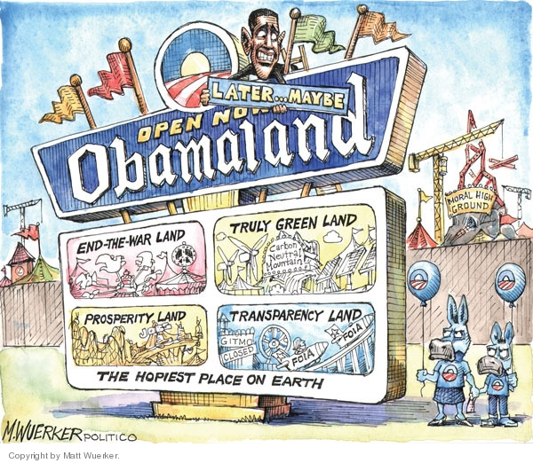 Matt Wuerker  Matt Wuerker's Editorial Cartoons 2009-12-03 ride