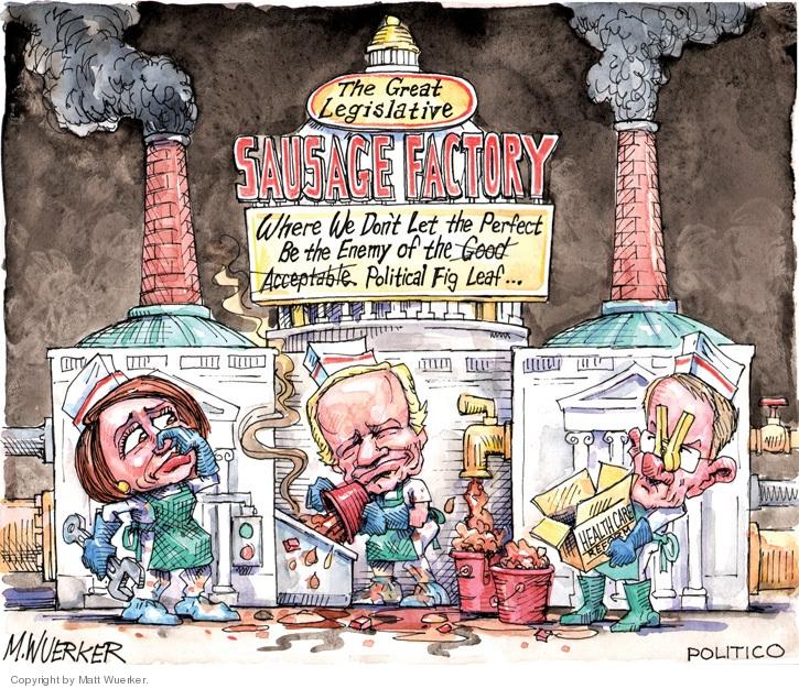 Cartoonist Matt Wuerker  Matt Wuerker's Editorial Cartoons 2009-12-17 quotation