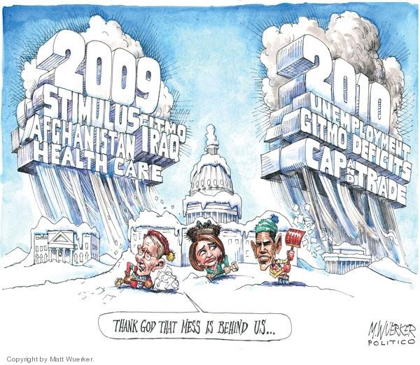 Cartoonist Matt Wuerker  Matt Wuerker's Editorial Cartoons 2009-12-22 Congress