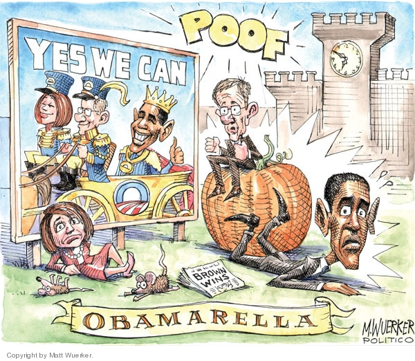 Cartoonist Matt Wuerker  Matt Wuerker's Editorial Cartoons 2010-01-21 Massachusetts