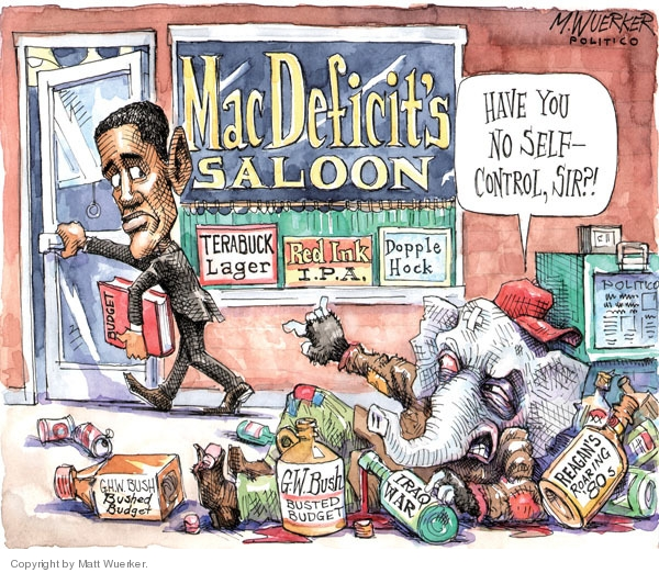 Cartoonist Matt Wuerker  Matt Wuerker's Editorial Cartoons 2010-02-03 George W. Bush
