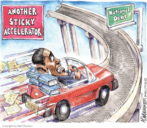 Cartoonist Matt Wuerker  Matt Wuerker's Editorial Cartoons 2010-02-08 automobile safety