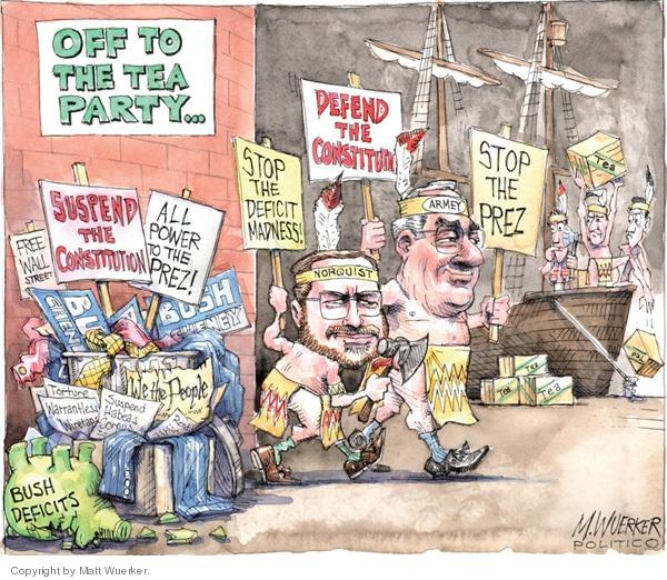 Cartoonist Matt Wuerker  Matt Wuerker's Editorial Cartoons 2010-02-22 Cheney Obama