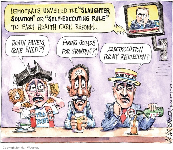 Cartoonist Matt Wuerker  Matt Wuerker's Editorial Cartoons 2010-03-18 congress health care