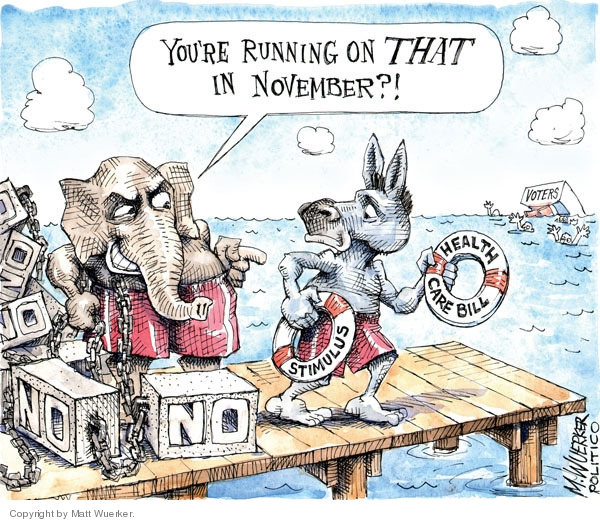 Matt Wuerker  Matt Wuerker's Editorial Cartoons 2010-03-24 Republican opposition