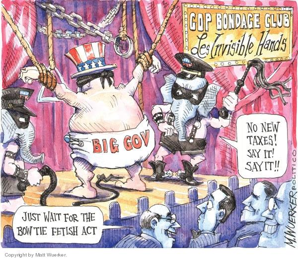 Cartoonist Matt Wuerker  Matt Wuerker's Editorial Cartoons 2010-03-31 government size
