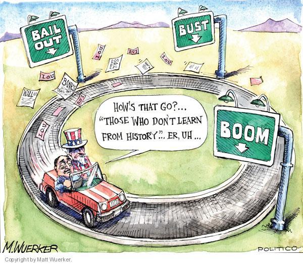 Cartoonist Matt Wuerker  Matt Wuerker's Editorial Cartoons 2010-04-20 quotation