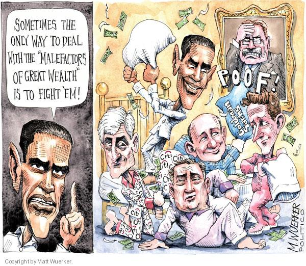 Cartoonist Matt Wuerker  Matt Wuerker's Editorial Cartoons 2010-04-26 congressional oversight