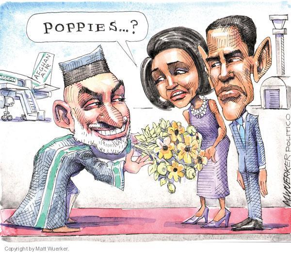 Matt Wuerker  Matt Wuerker's Editorial Cartoons 2010-05-12 flower bouquet