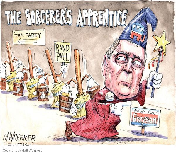 Cartoonist Matt Wuerker  Matt Wuerker's Editorial Cartoons 2010-05-20 senate minority leader
