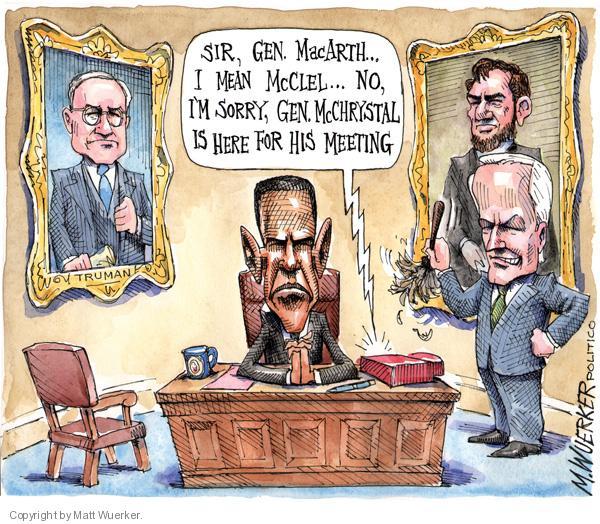 Cartoonist Matt Wuerker  Matt Wuerker's Editorial Cartoons 2010-06-24 American History