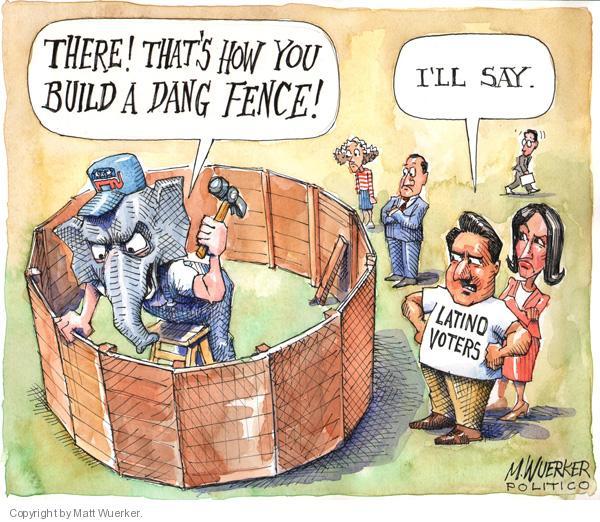 Matt Wuerker  Matt Wuerker's Editorial Cartoons 2010-06-17 Republican voter