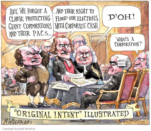 Matt Wuerker  Matt Wuerker's Editorial Cartoons 2010-07-06 founding father
