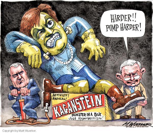 Cartoonist Matt Wuerker  Matt Wuerker's Editorial Cartoons 2010-07-13 monster