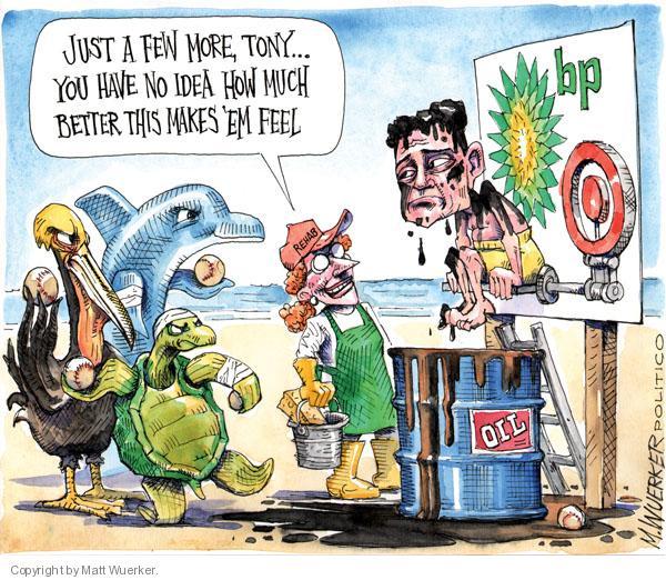Cartoonist Matt Wuerker  Matt Wuerker's Editorial Cartoons 2010-07-19 tank
