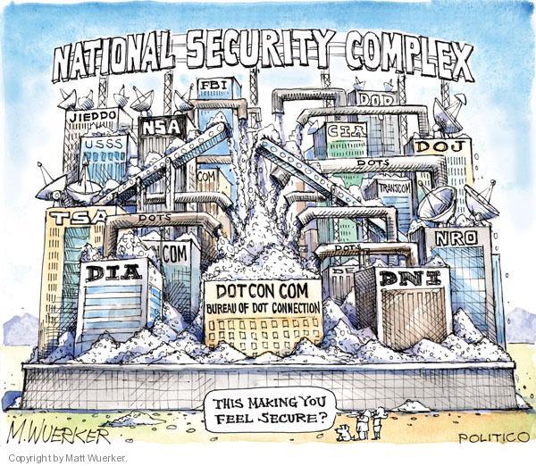 Cartoonist Matt Wuerker  Matt Wuerker's Editorial Cartoons 2010-07-20 security