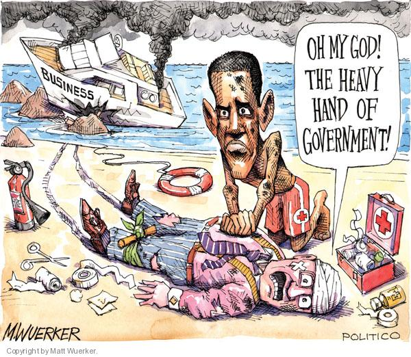 Matt Wuerker  Matt Wuerker's Editorial Cartoons 2010-07-21 government regulation