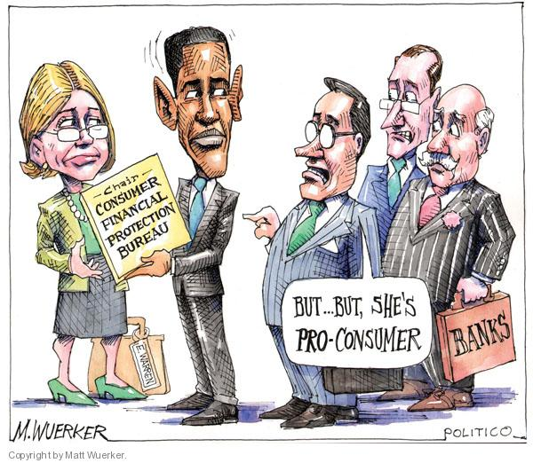 Cartoonist Matt Wuerker  Matt Wuerker's Editorial Cartoons 2010-07-22 banker