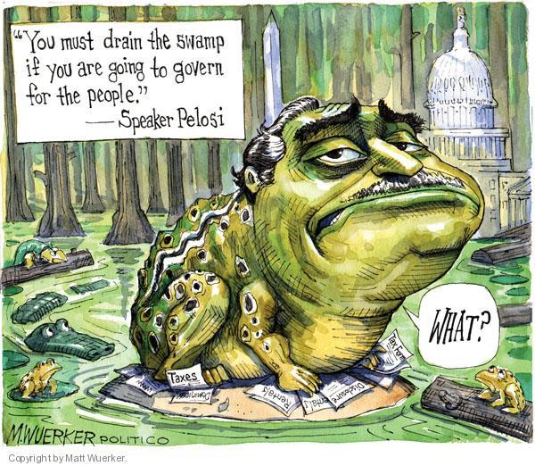 Cartoonist Matt Wuerker  Matt Wuerker's Editorial Cartoons 2010-07-28 quotation