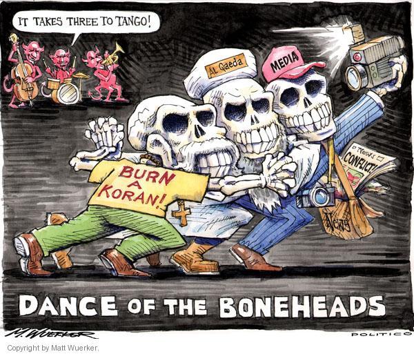 Matt Wuerker  Matt Wuerker's Editorial Cartoons 2010-09-15 intolerance