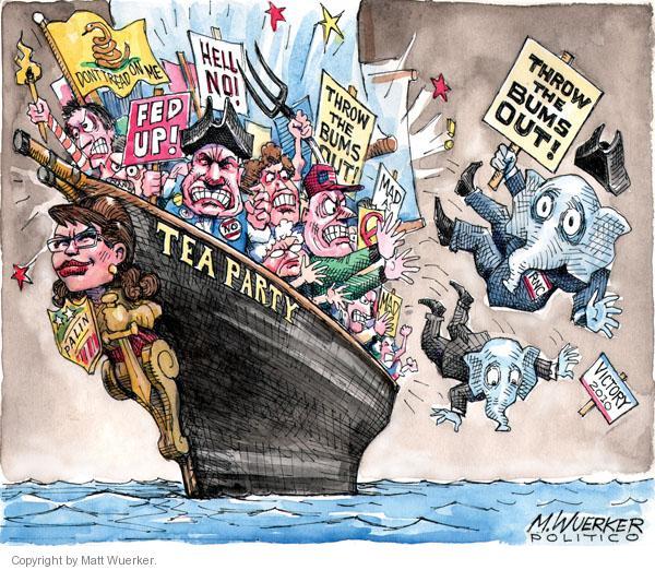Matt Wuerker  Matt Wuerker's Editorial Cartoons 2010-09-16 political party