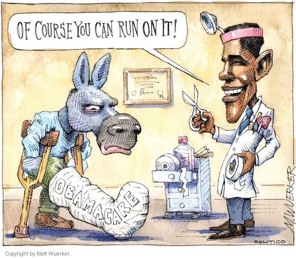 Cartoonist Matt Wuerker  Matt Wuerker's Editorial Cartoons 2010-10-04 president
