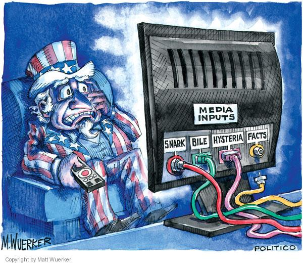 Matt Wuerker  Matt Wuerker's Editorial Cartoons 2010-10-05 television cartoon