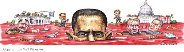 Cartoonist Matt Wuerker  Matt Wuerker's Editorial Cartoons 2010-11-04 president