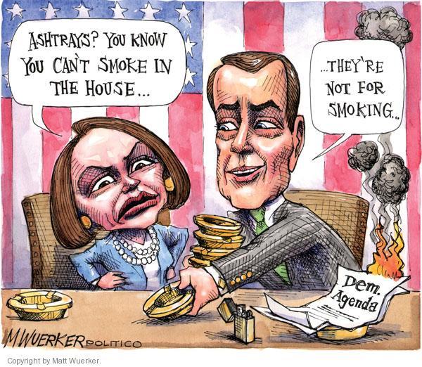 Cartoonist Matt Wuerker  Matt Wuerker's Editorial Cartoons 2010-11-30 Nancy Pelosi