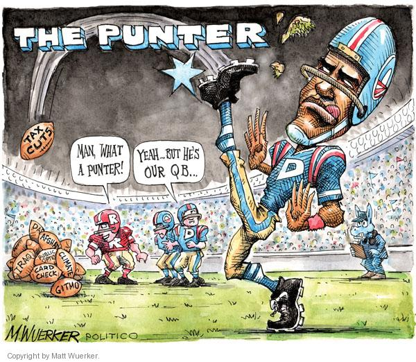 Cartoonist Matt Wuerker  Matt Wuerker's Editorial Cartoons 2010-12-09 president