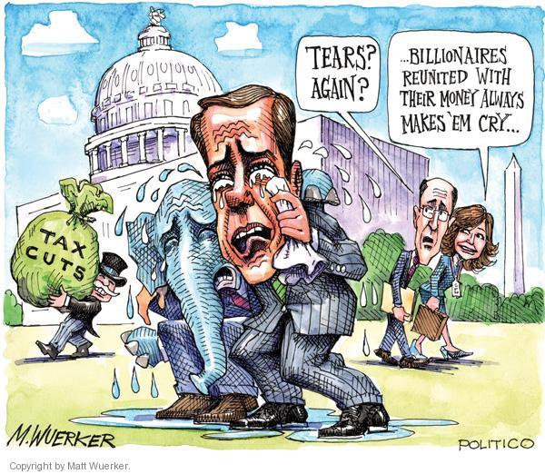 Matt Wuerker  Matt Wuerker's Editorial Cartoons 2010-12-15 affluent