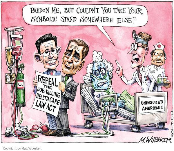 Matt Wuerker  Matt Wuerker's Editorial Cartoons 2011-01-18 stand
