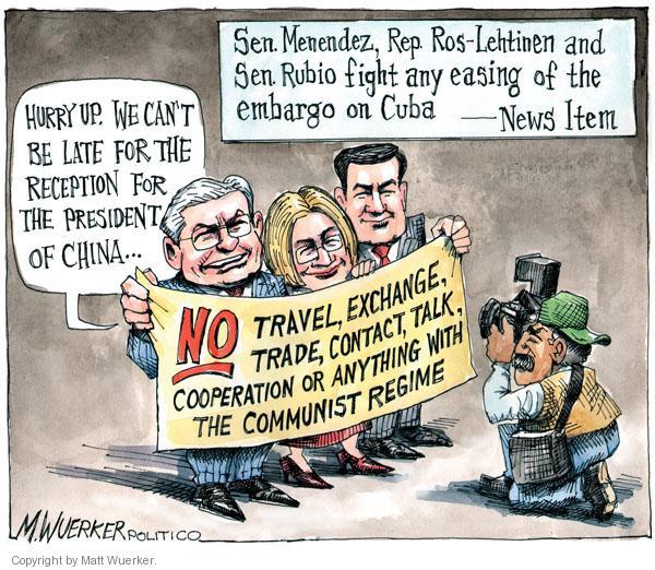 Matt Wuerker  Matt Wuerker's Editorial Cartoons 2011-01-19 Cuba
